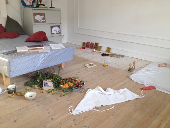 Christina Jonsson Art Performance_ Installation @ 4th _CPH.19